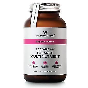 Wild Nutrition Food-Grown Balance Multi Nutrient Vegicaps 90