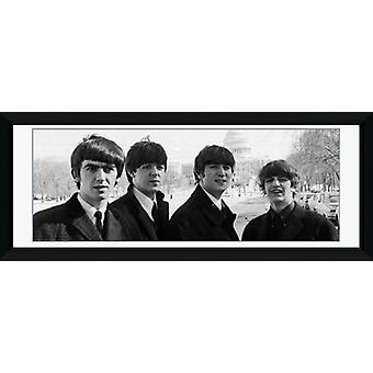 Beatles Capitol indrammet Collector Print 75x30cm
