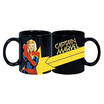 Mug - Captain Marvel - Glitter Coffee Cup New cmgg-mn-cptmar