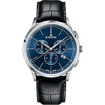 Edox 10236 3C BUIN Les Vauberts Men ' s Watch