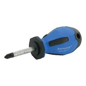 Silverline Pozidriv screwdriver gummed No. 2 x 100 mm (DIY , Tools , Handtools)