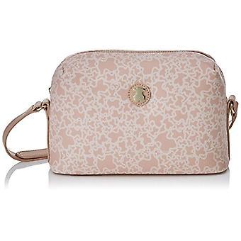 Tous Bandolera Median Aos Leaf - Pink Women's Messenger Bags (Pink) 9x15x24 cm (W x H L)