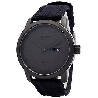 Citizen Eco rijden nylon riem Bm8475-00F mannen ' s horloge