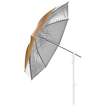 BRESSER studio parapluie or/argent 83cm interchangeable