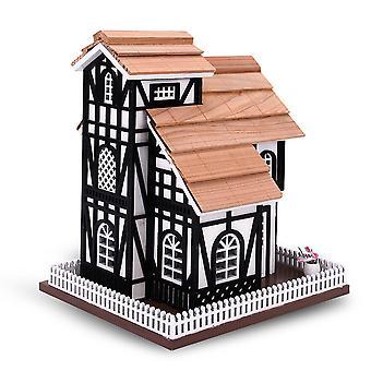 Υπαίθριο ξύλινο κλουβί πουλιών, φιλικό προς τα πτηνά πέρκα (Euro Cottage)