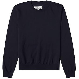 Maison Margiela Elbow Patch Pullover Jumper