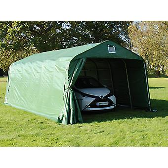 Portable Garage PRO 3.6x7.2x2.68 m, PVC, Green