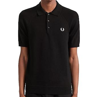 Fred Perry Authentic Textured Knit Polo   K7500