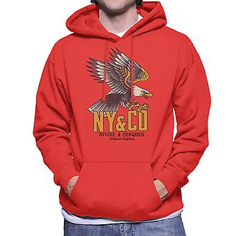 Divide & Conquer NY & Co Eagle Men's Hooded Sweatshirt