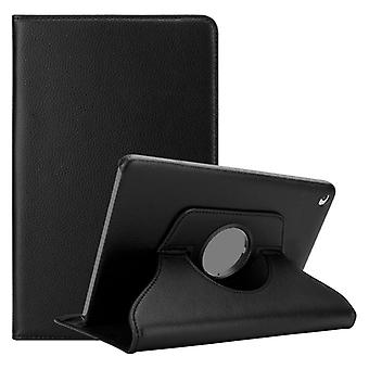 Cadorabo fallet för Apple iPad 2/iPad 3/iPad 4 fall Cover-bok stil skyddsfodral med bil Vakna med Stand funktion och gummi band stängning