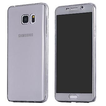 Galaxy S6 Edge komplett mobile 360 Soft Shell schwarz
