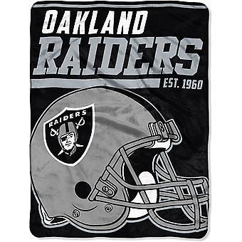 Northwest NFL Oakland Raiders Micro Plush Blanket 150x115cm