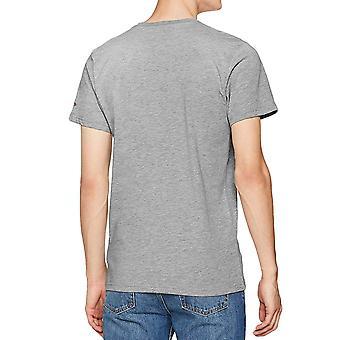 New Era Mens Miami Heat NBA Basketball Short Sleeve T-Shirt Top  - Grey
