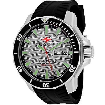 Seapro Men's Scuba Dragon Diver Limited Edition 1000 Meter Silber Zifferblatt Uhr - SP8312