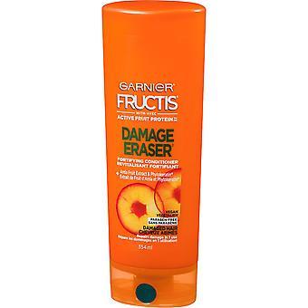 Garnier Fructis skader viskelæder befæstning conditioner med amla ekstrakt, vegansk, 354 mL