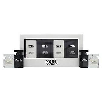 Karl Lagerfeld For Him & Her Gift Set 2 x 4.5ml Karl Lagerfeld for Him EDT + 2 x 4.5ml Karl Lagerfeld  for Her EDT