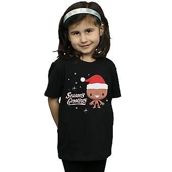 Marvel Girls Season's Grootings T-Shirt
