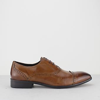 Blakeseys Constable Mens Leather Toe Cap Oxford Brogues Tan