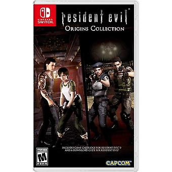 Resident Evil Origins Collection Switch Game