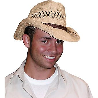 Cowboy Hat Rolled Beige For All