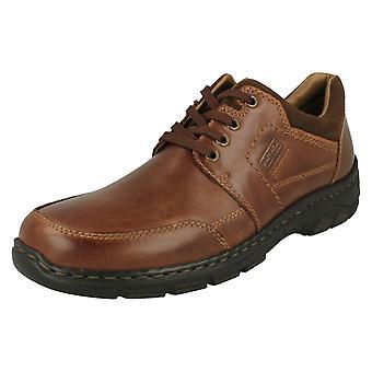 Mens Rieker Lace Up Shoes 19911