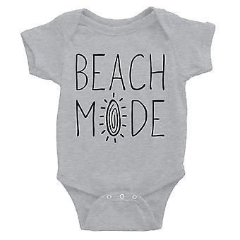 365 impresión Beach Modo Bebé Bodysuit Regalo Gris Bebé Niña Cumpleaños Mono bebé