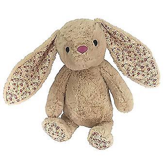 "Petlou Plush 15"" Easter Bunny Dog Toy, Tan"