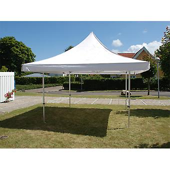 Vouwtent/Easy up tent FleXtents Pagoda Xtreme 50 3x3m / (4x4m) Wit