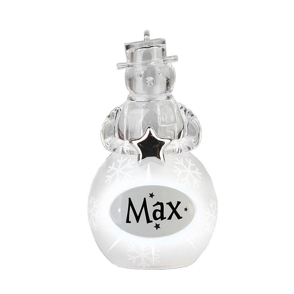 History & Heraldry Snowman - Max