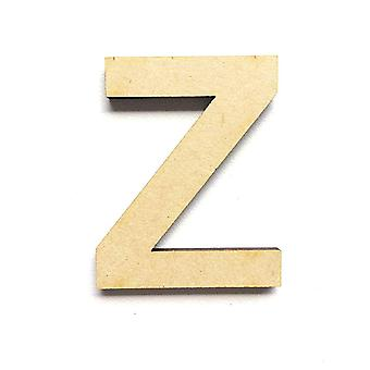 Wooden Large Capital Alphabet Letters - Z