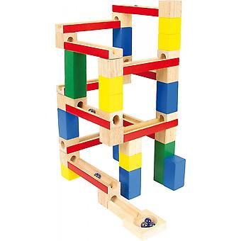 Small Foot Marble Run - Wooden Blocks