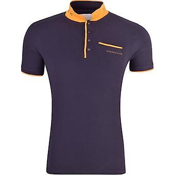 Hachura hachura Mens Original Polo T camisa Pique algodão manga curta topo-de-colar