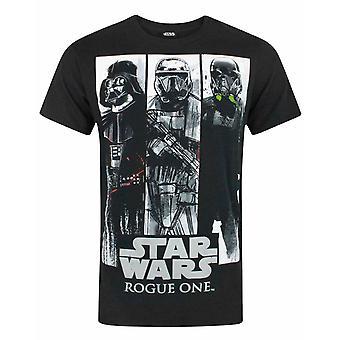 Star Wars Rogue One Character Panels Men's T-Shirt