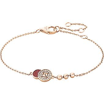 Zeades Sbc01074 bracelet - Bracelet Rose Gold Leather woman