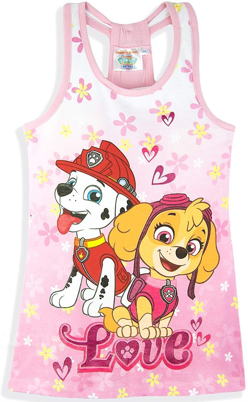 Girls ER1198 Paw Patrol Sleeveless Dress Size 3-6 Years