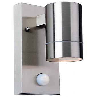 Firstlight Chromatic Modern Stainless Steel Bathroom Cylinder Sensor Up / Down Wall Light
