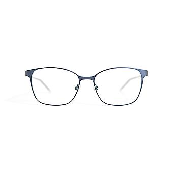 Gotti Lisa DBM-S Dark Blue - Silver Brushed Glasses