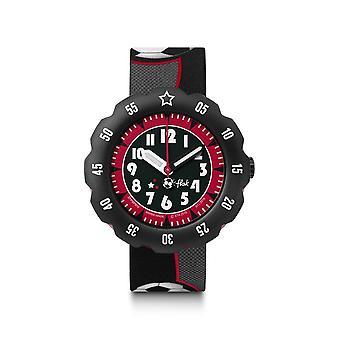 Flik Flak Watches Fpsp010 Soccer Star Textile Watch