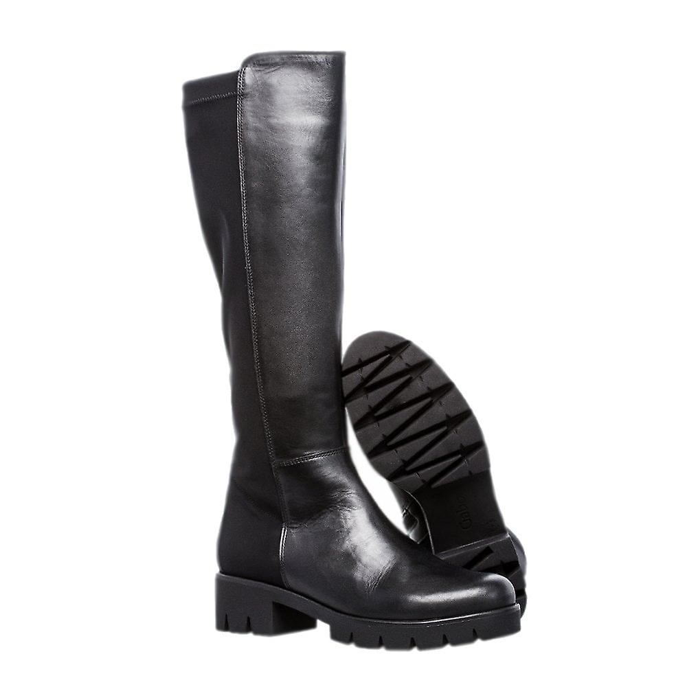 Gabor Massimo Best Fitting Stretch Boots In Black