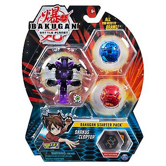 Bakugan Starter Pack Darkus Clopter