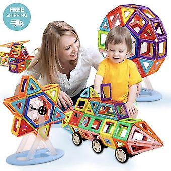Kids Mini Magnetic Construction Building Blocks Set