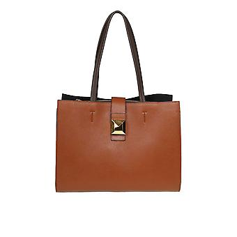 Furla 1021516 Dames's Brown Leather Tote
