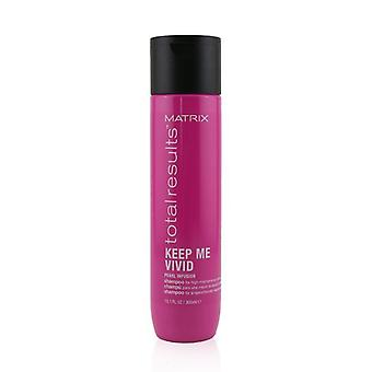 Matrix Total Results Keep Me Vivid Pearl Infusion Shampoo (voor high-maintenance kleuren) - 300ml/10.1oz