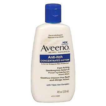 Aveeno anti-klø konsentrert lotion, 4 oz