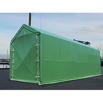 Opslagtent PRO XL 3,5x10x3,3x3,94m, PVC, Groen