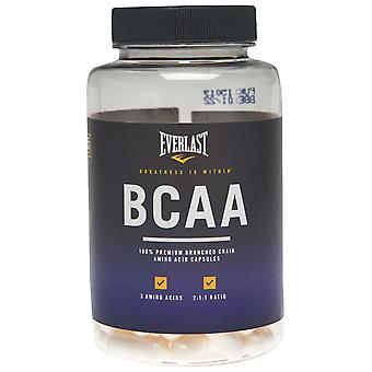 Everlast Unisex BCAA Capsules Amino Acids Fitness Sports Performance Workout
