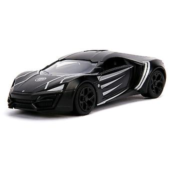 Black Panther Lykan Hypersport 1:32 Hollywood Ride