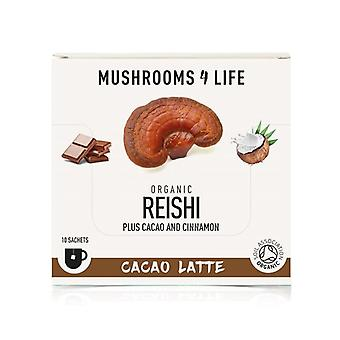 Sienet4Life Organic Reishi Cacao Latte Pussit 10 (ML0062)