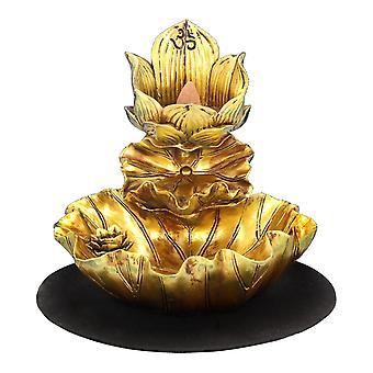 Nemesis Jetzt Lotus der Ruhe Backflow Weihrauchbrenner 14cm