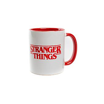 Tasse officielle de logo de Stranger Things